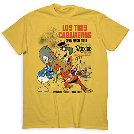 Limited Release The Three Caballeros T-Shirt Out Now