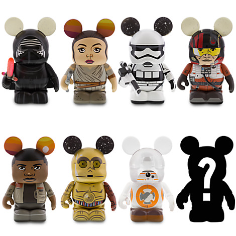 And The Star Wars The Force Awakens Vinylmation Chaser Is
