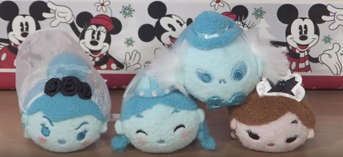 First Look Haunted Mansion Tsum Tsum