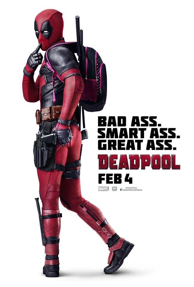 Deadpool International Poster Revealed
