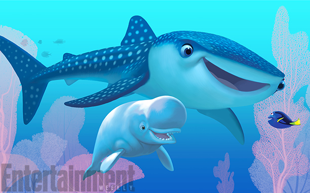 First Look At New Finding Dory Characters