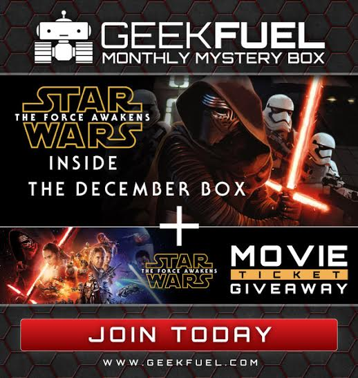 Star Wars: The Force Awakens Coming To December's Geekfuel Box