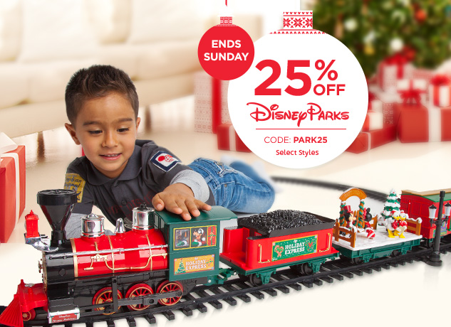 25% Off Park Authentic Items At Disney Store