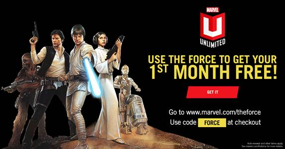 Marvel Announce Marvel Unlimited Free Month Promotion