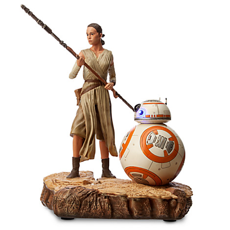 Star Wars: The Force Awakens Rey & BB-8 Limited Edition Figure Out Now