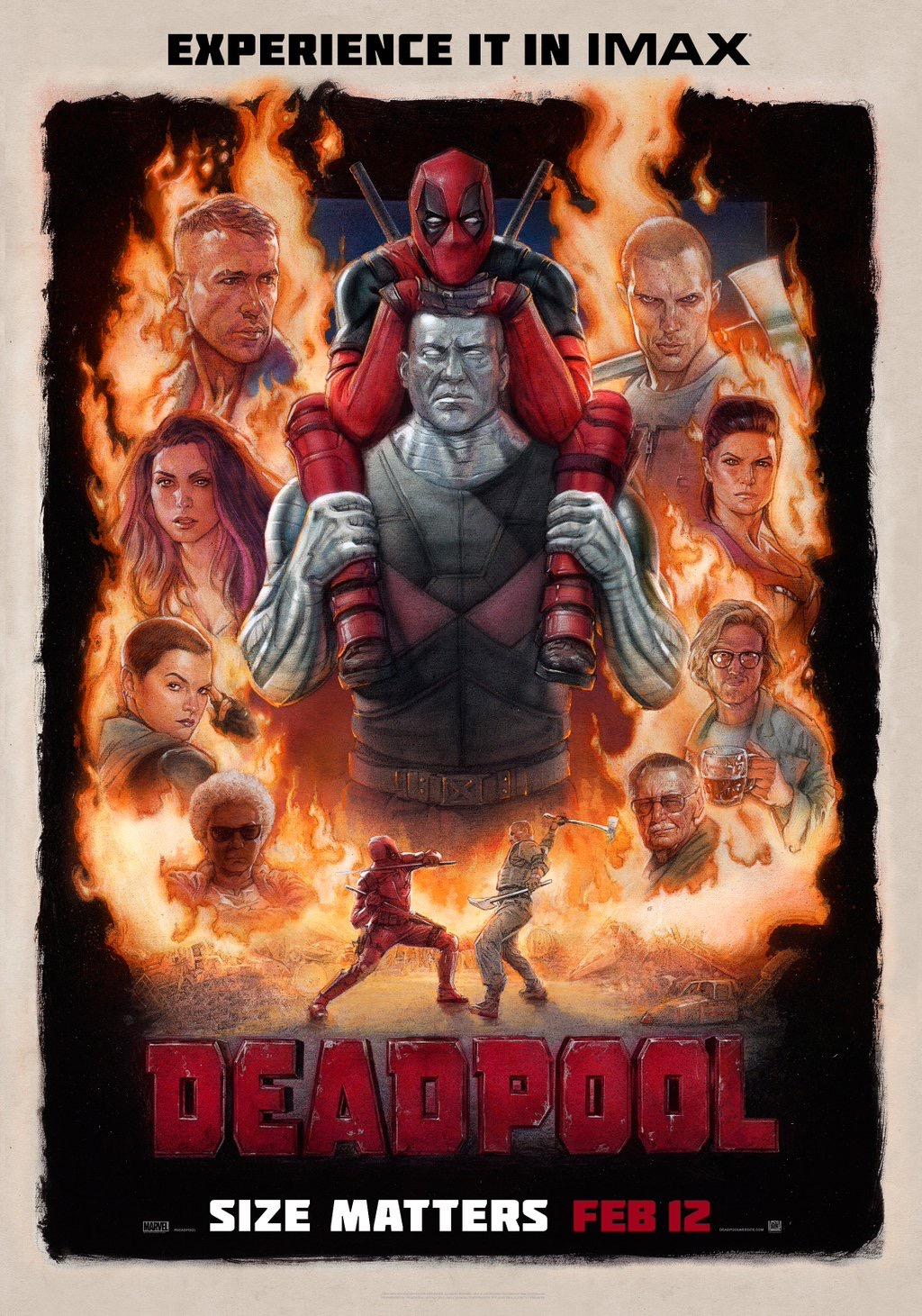 Deadpool IMAX Poster & Trailer Released