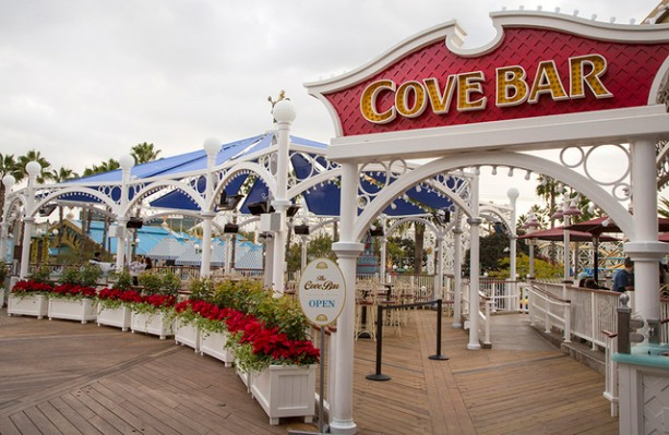 Cove Bar Expanded At Paradise Pier