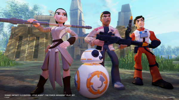 Star Wars: The Force Awakens Available Now For Disney Infinity 3.0