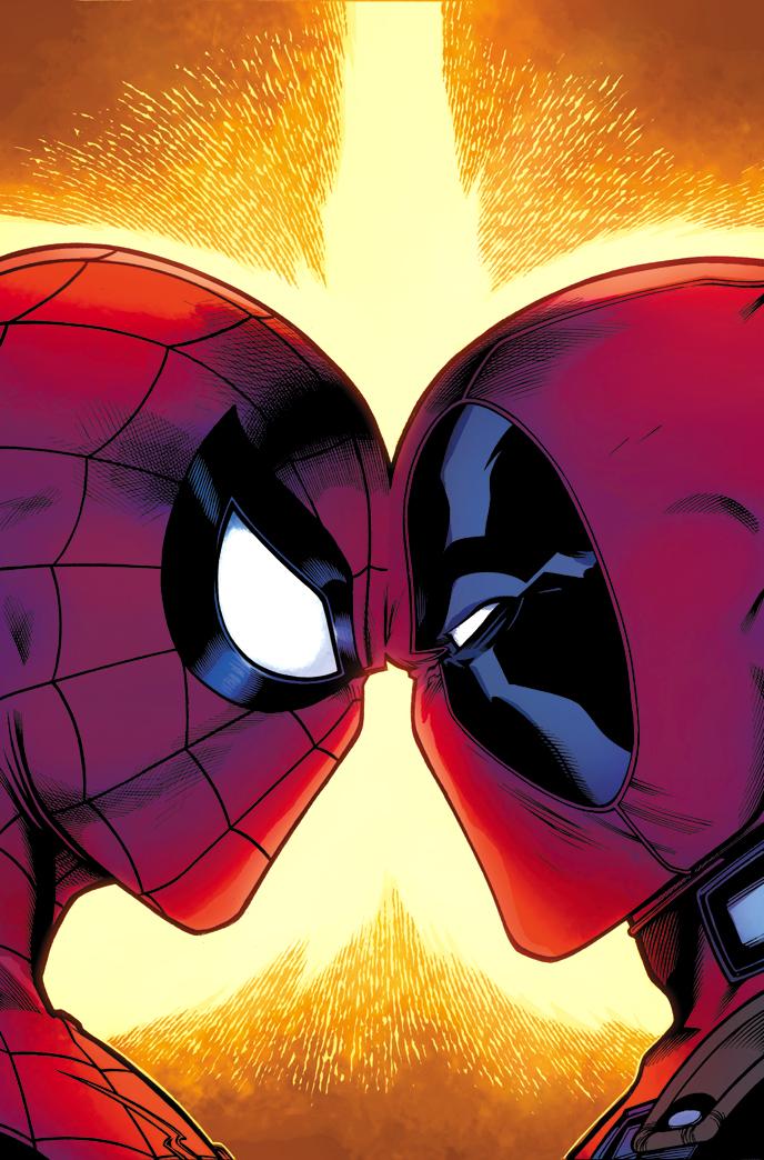 Mouthy Merc Meets Webbed Wonder – Your New Lookat SPIDER-MAN/DEADPOOL #1!
