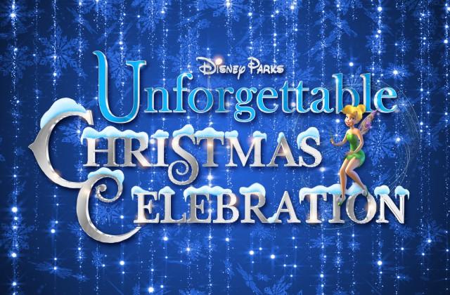 Details On A Disney Parks Unforgettable Christmas Celebration Special