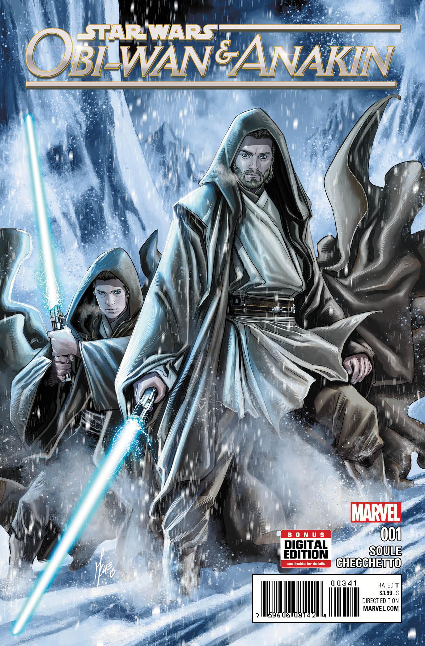 OBI-WAN AND ANAKIN #1 Unites Master & Padawan For An Epic New Adventure!