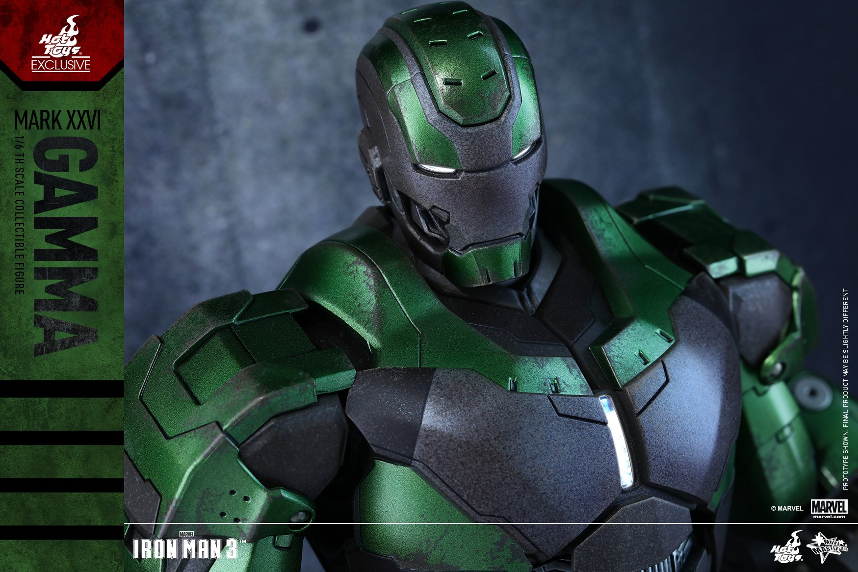 First Look At Hot Toys Gamma Iron Man Figure