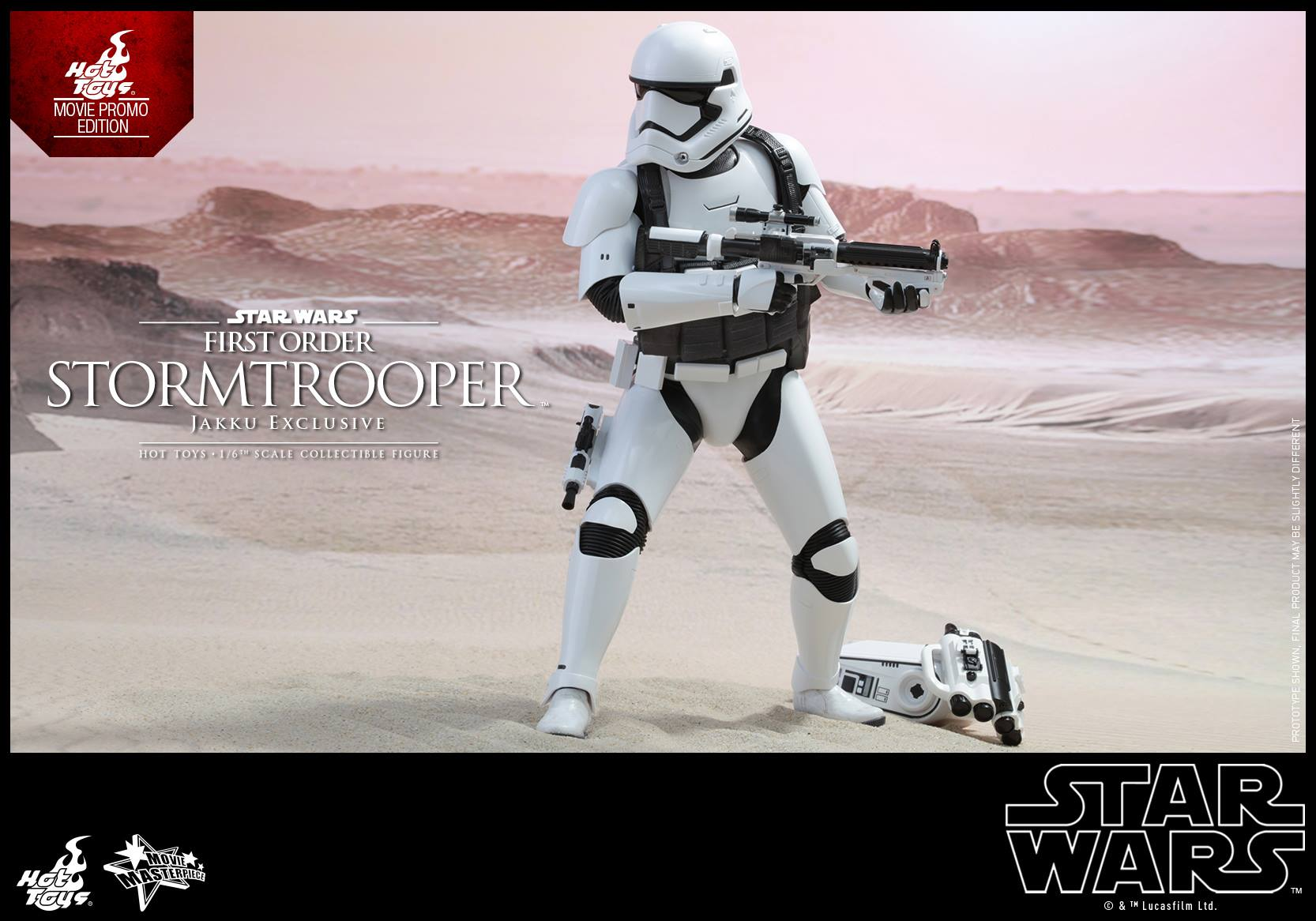 Details On Hot Toys Star Wars: The Force Awakens Jakku Stormtrooper Figure
