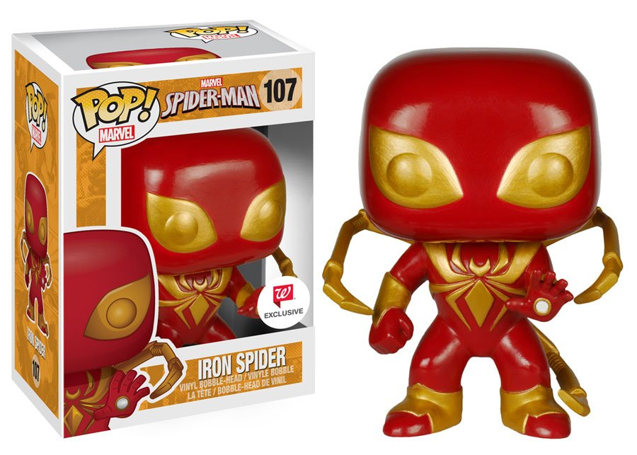 Iron Spider-Man Pop Vinyl Coming To Walgreens