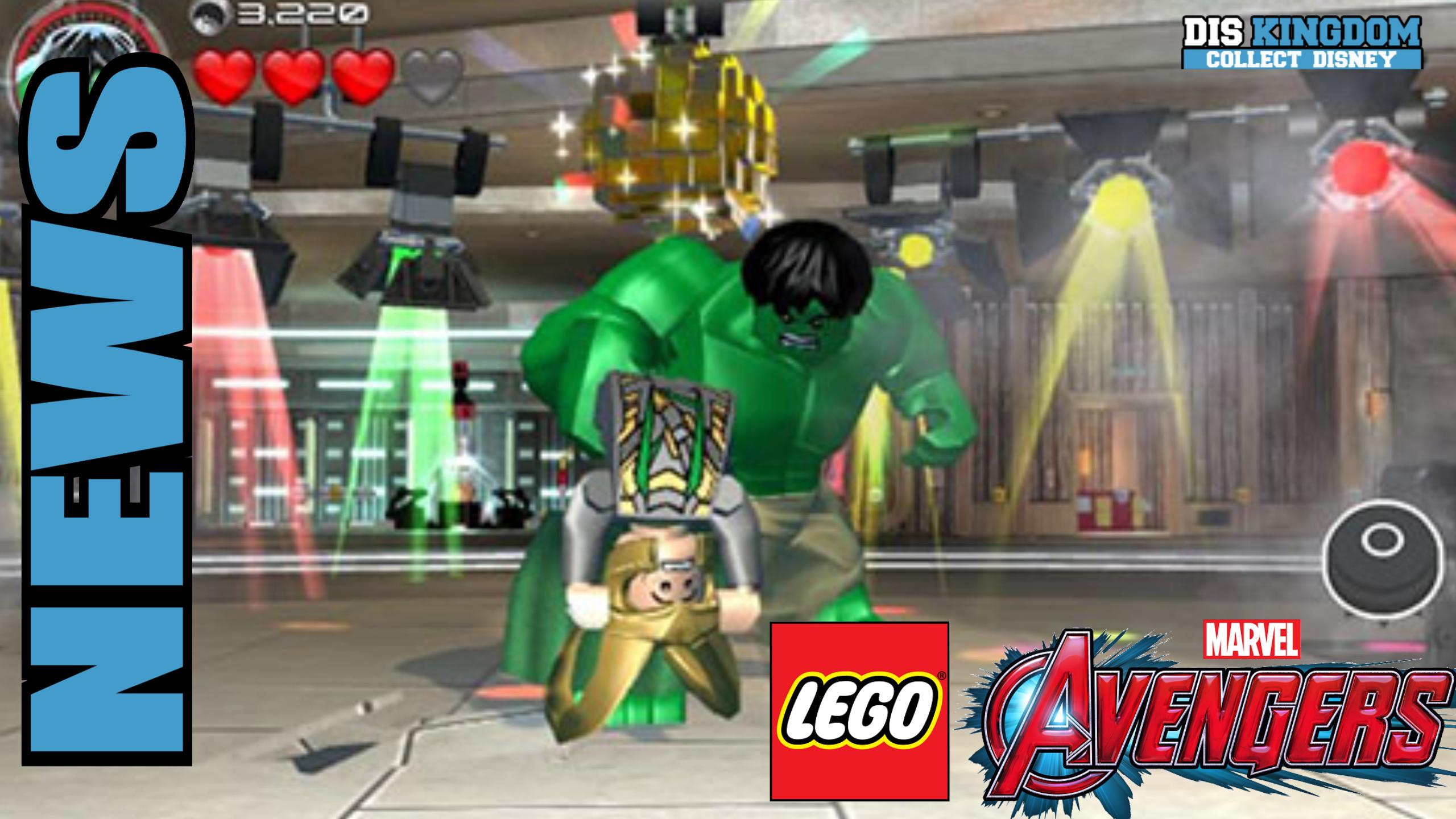 sneak peek at lego avengers on 3ds ps vita disney marvel star wars. Black Bedroom Furniture Sets. Home Design Ideas