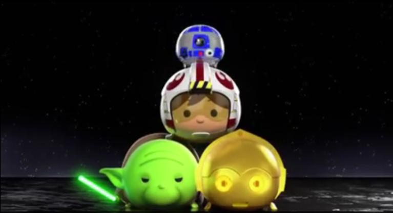 Star Wars Tsum Tsum Trailer Released
