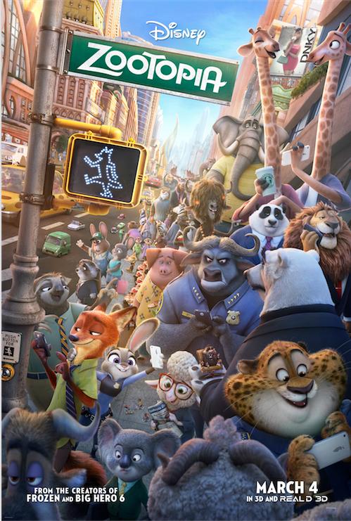 New Zootopia Poster Revealed