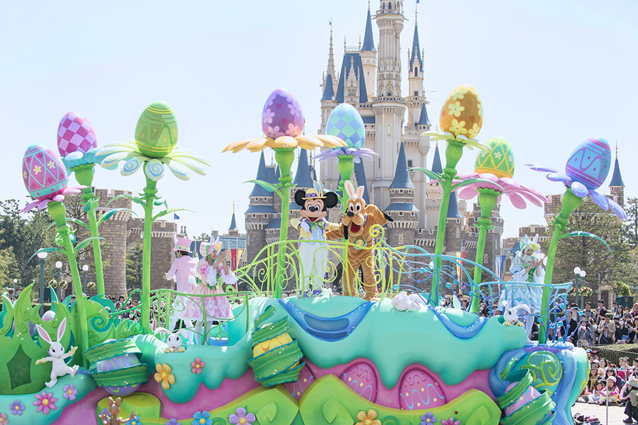 Easter Heads To Tokyo Disneyland Park March 25