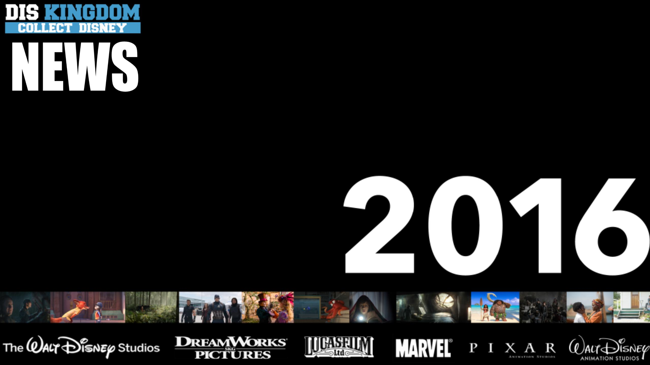 Disney's 2016 Movie Slate Features 13 Films