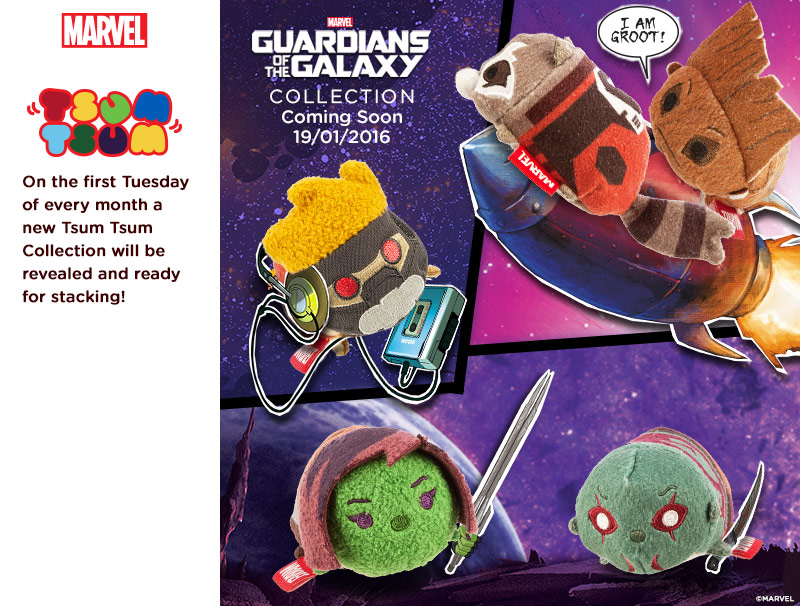 Marvel's Guardians Of The Galaxy Tsum Tsum's Coming To Europe