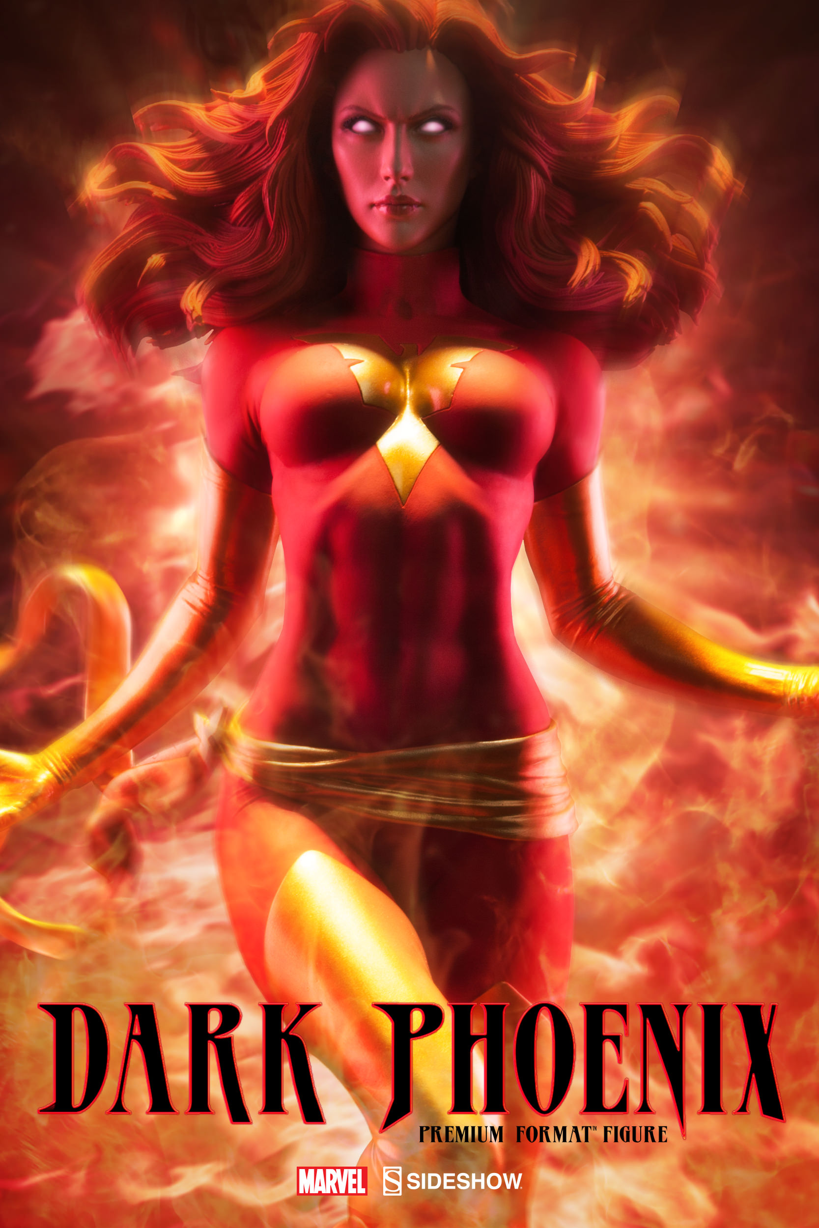 Details On Sideshow's Dark Phoenix Premium Format Figure