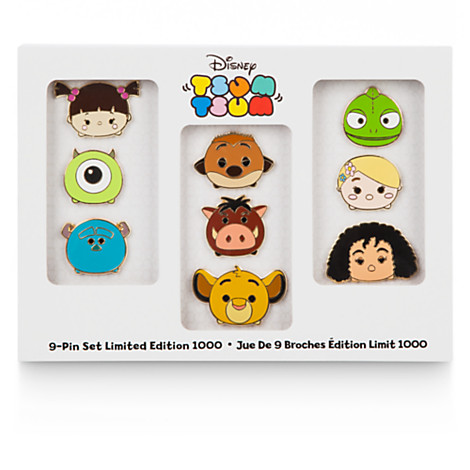 Disney Release Tsum Tsum Limited Edition Pin Set
