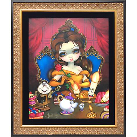 Disney WonderGround Alice in The Garden Frame by Jasmine Becket-Griffith New