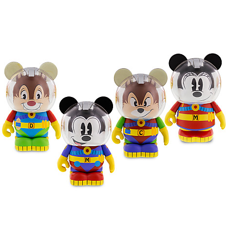 Mickey Amp Friends In Space Vinylmation Series Out Now