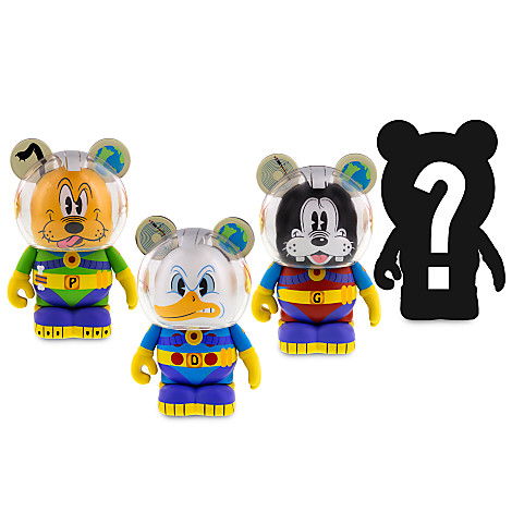 And The Mickey & Friends In Space Vinylmation Chaser Is?