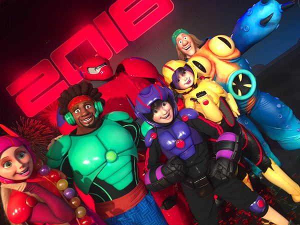 Big hero 6 characters come to disneyland paris diskingdom here is a look at the characters thanks to disneymoi m4hsunfo