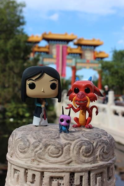 Pop! on Location: Mulan & Friends Visit Epcot's China Pavilion