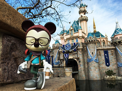 Hipster Mickey 9″ Vinylmation Coming In February