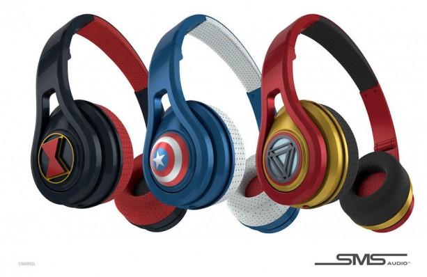 Marvel SMS Audio Headphones Available At Disneyland & Walt Disney World Early