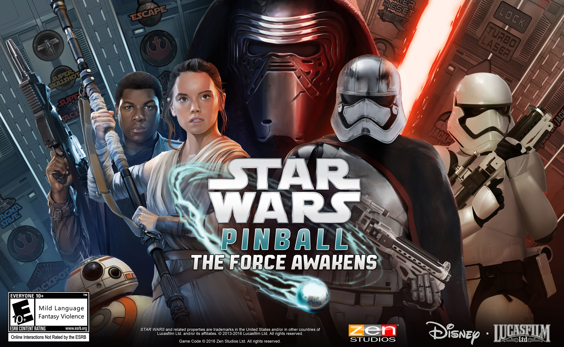 Star Wars: The Force Awakens Pinball Pack Coming Soon