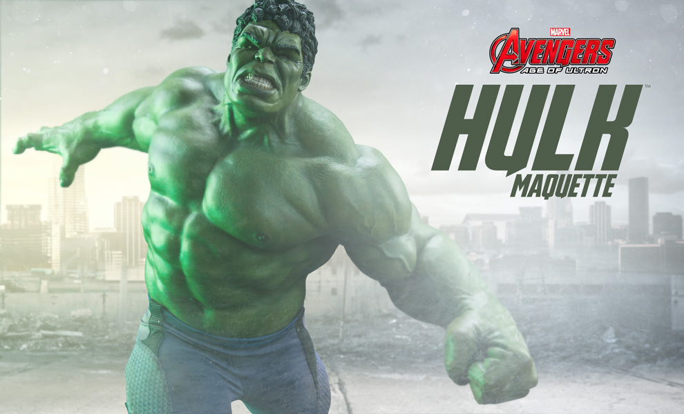 Hulk Maquette Coming Soon From Sideshow Collectibles