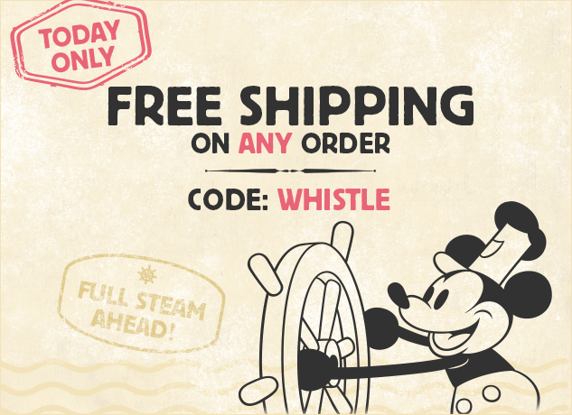 Free Shipping On Any Order At DisneyStore.com