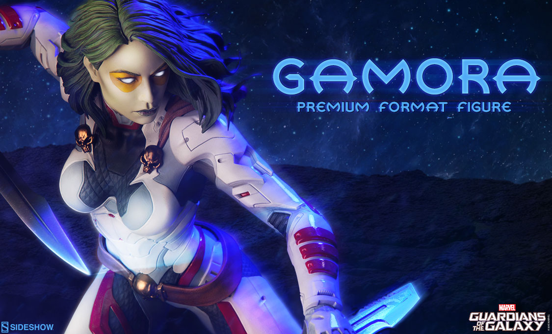 Guardians Of The Galaxy Gamora Sideshow Premuim Format Figure Preview
