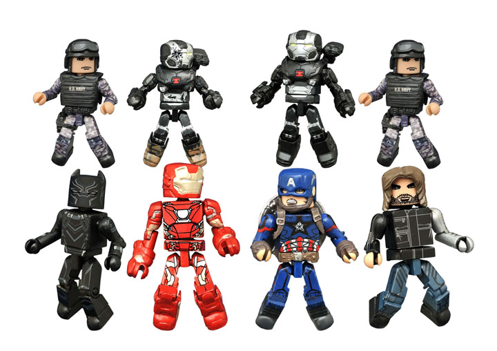 Details On Marvel Greatest Hits And Civil War Minimates Coming Soon