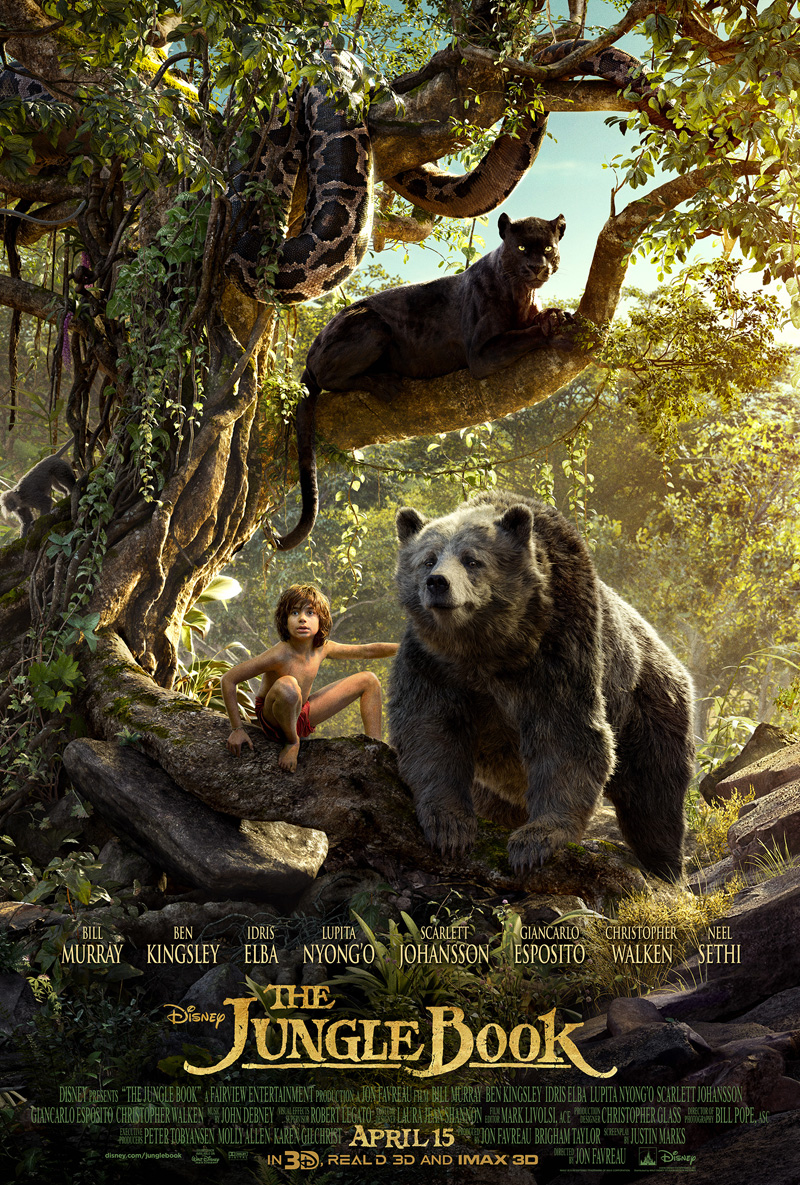Final Triptych Poster Revealed For The Jungle Book
