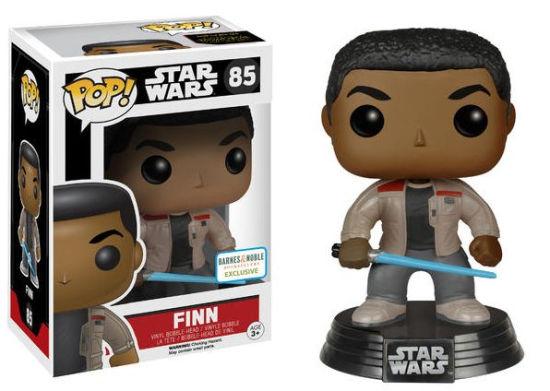 Details On A Star Wars The Force Awakens Finn with Lightsaber Pop Vinyl