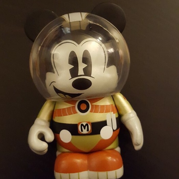 Mickey & Friends In Space Variant Vinylmations Discovered