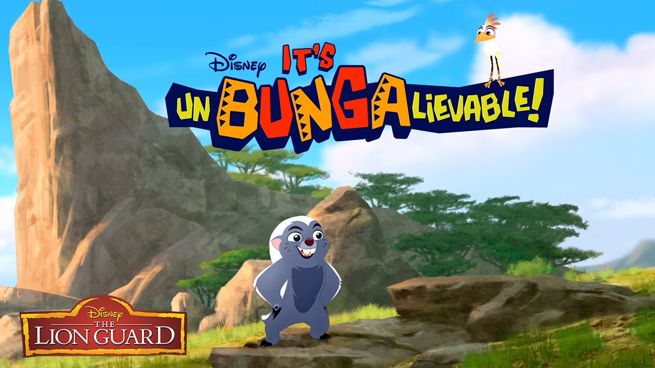 "Disney Launch New Animated Short Series ""It's Unbungalievable!"""