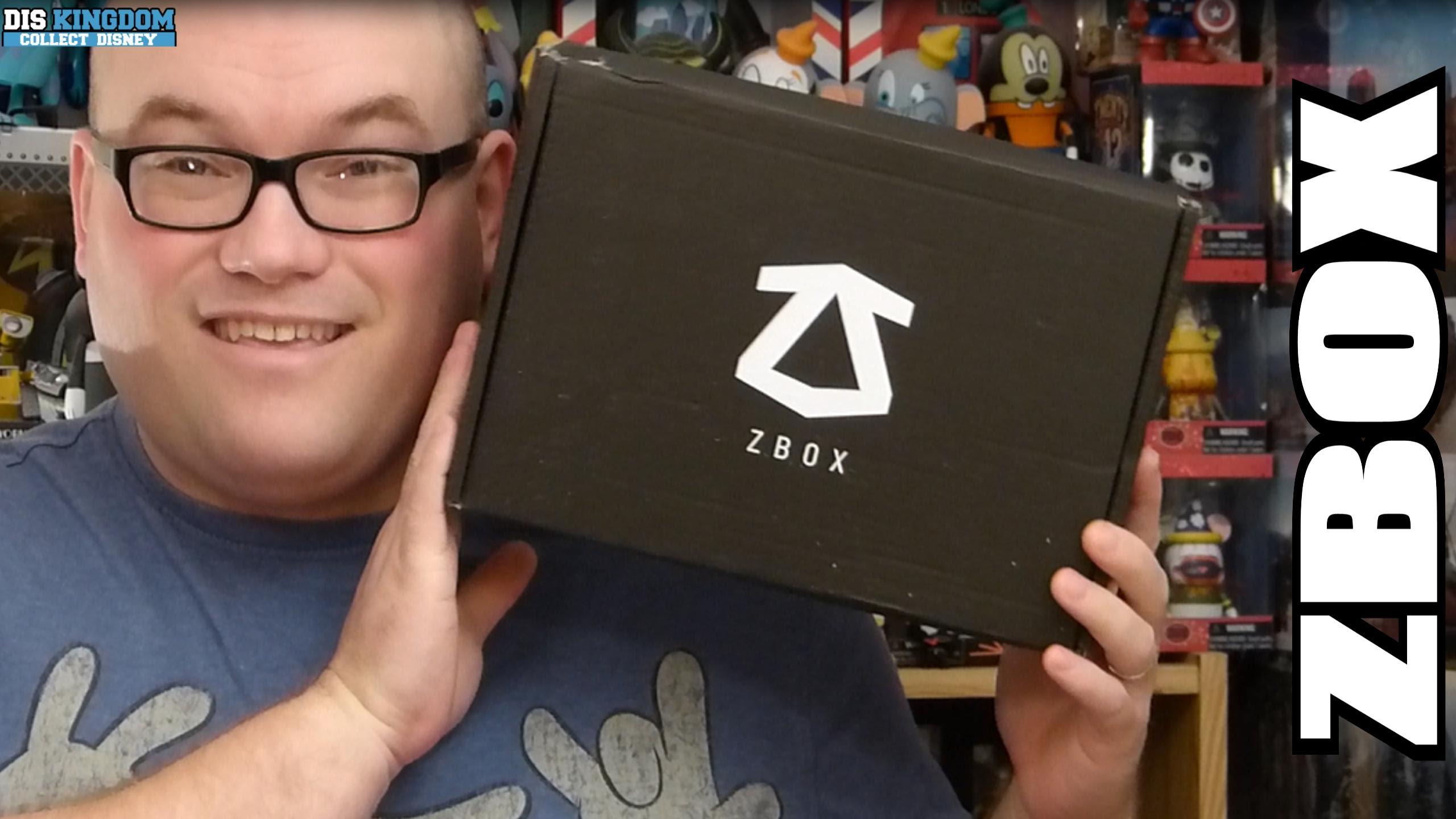 """Zavvi Zbox """"Blockbuster"""" Unboxing"""