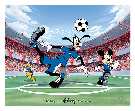 'Goofy Sport' Hand-Painted Ink & Paint Cel Debuting at Walt Disney World Resort