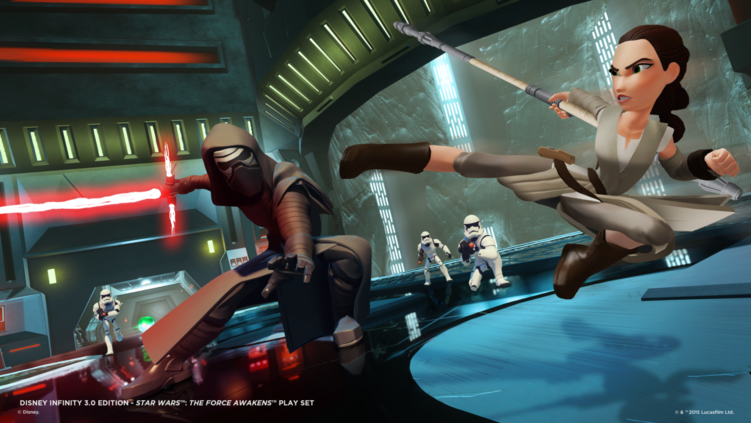 Disney Infinity 3.0 Star Wars: The Force Awakens Toy Box Challenge Winners
