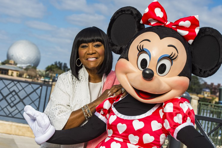 Patti LeBelle Visits Epcot For Black History Month