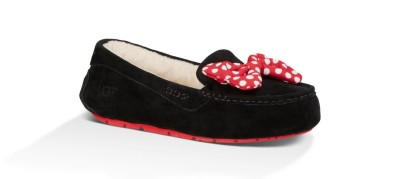 Black with red bow: