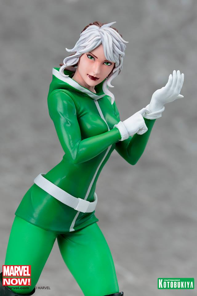 Marvel Now! Rogue ARTFX+ Statue Coming Soon