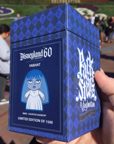 Disneyland 60th Anniversary Haunted Mansion Bride Park Starz Variant Out Now