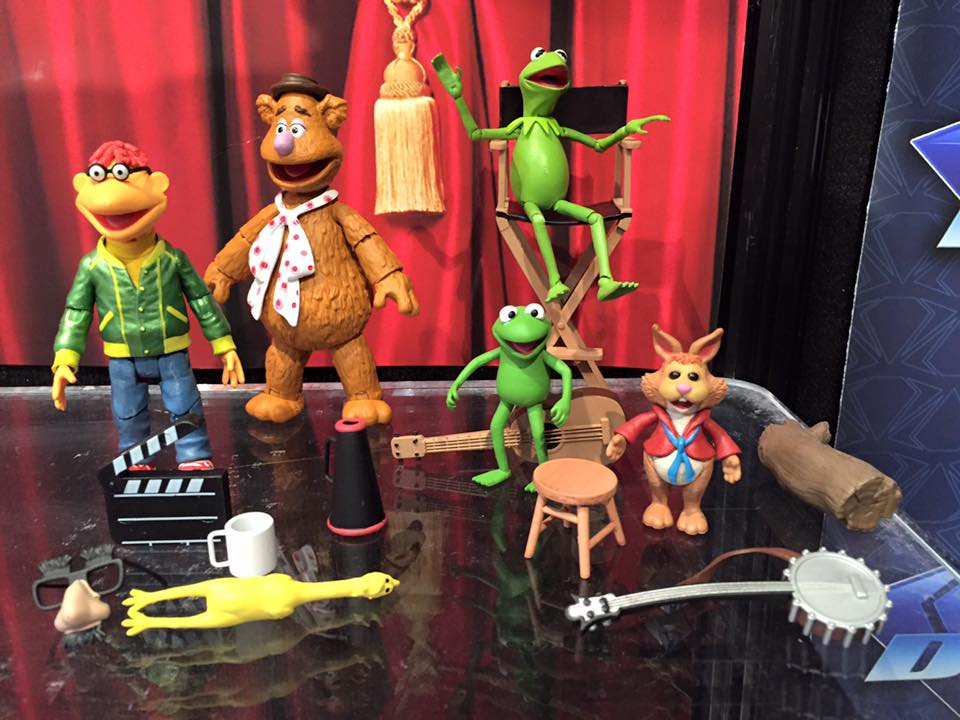 The Muppets Diamond Select Previews At New York Toy Fair